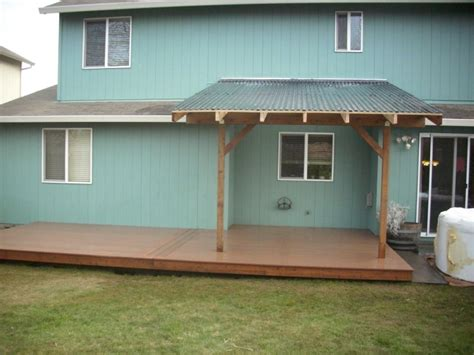composite deck with patio cover basic patio cover deck