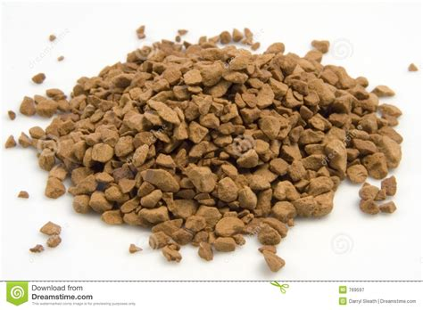 Instant coffee can give you a caffeine boost without brewing a whole pot. Instant Coffee Granules In A Pile. Stock Image - Image of grains, instant: 769597
