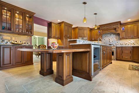 kitchen cabinets in nj stunning cherry kitchen brick new jersey by design line 1890