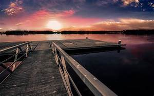 Dock Sunset Wallpapers