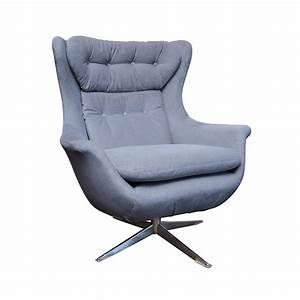 Danish, Modern, Swivel, Lounge, Chair
