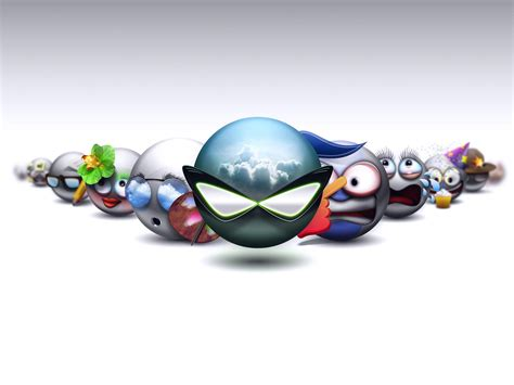 emoticons smileys  hd desktop wallpapers