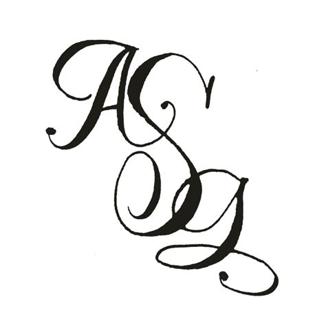 fonts monograms  calligraphy
