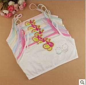 2017 100 Cotton Young Girls Training Bra 10 15 Years Old ...