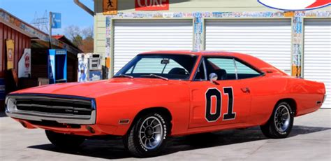 stunning  dodge charger  general lee hot cars