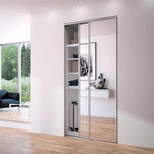 61 best images about portes de placard by sogal on With porte d entrée alu avec miroir salle de bain 90