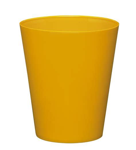 canape en osier cache pot réserve d 39 eau jaune poterie cache pot