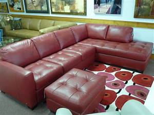 natuzzi leather sofas sectionals by interior concepts With natuzzi red leather sectional sofa
