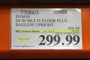 Dyson dc50 multi floor plus bagless upright vacuum costco for Dyson dc50 multi floor plus