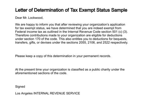 tax exempt letter fresh tax exempt letter cover letter exles 13770