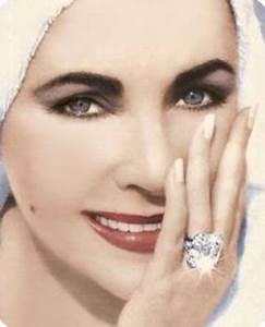 famous diamond engagement rings in history With liz taylor wedding ring