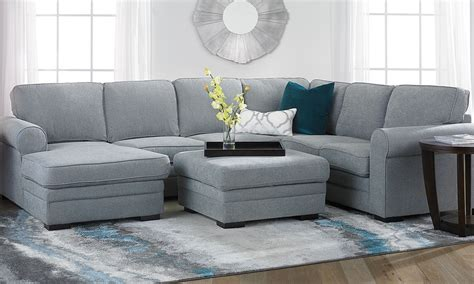 The Dump Sleeper Sofa by 25 Best Norfolk Grey 6 Sectionals With Raf Chaise