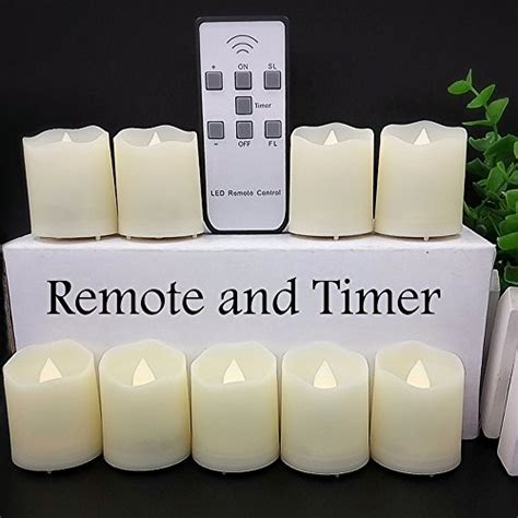 automatic tea light candles timer flickering flameless led tea light candles 18
