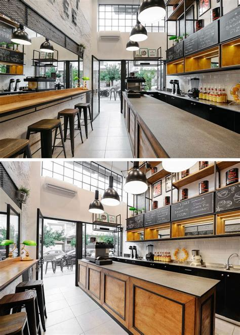 What office needs a coffee maker? Andreas Petropoulos Has Designed A Small Takeaway Coffee Bar In Greece   Coffee bar design ...