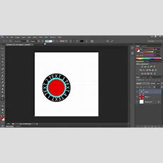How To Create Round Text In Photoshop Cs6 Youtube