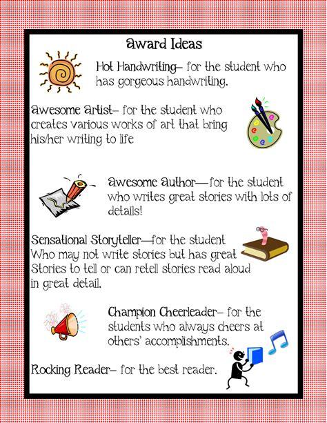 kindergarten squared awards ideas for your kiddos 749 | award ideas2