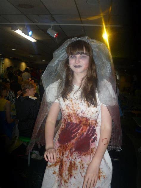 zombie wedding dress  full costume dressmaking