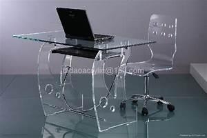 acrylic computer desk - DT059 (Hong Kong Manufacturer