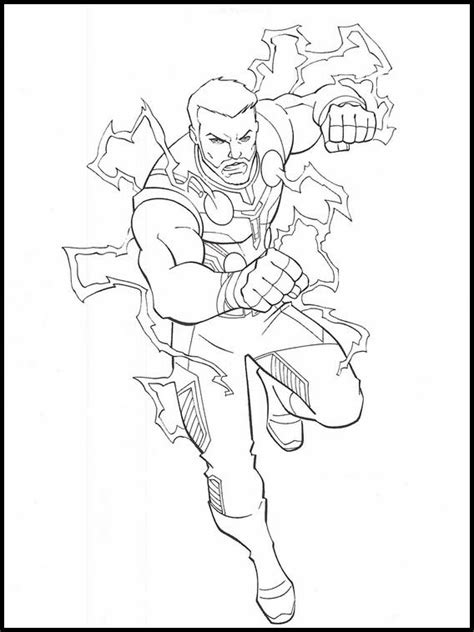 Avengers Endgame Avengers Coloring Pages Printable