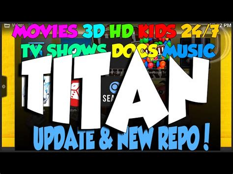Titan Update And New Repository