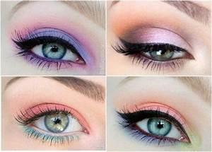 Apprendre A Se Maquiller Les Yeux : un maquillage pastel pour le printemps ~ Nature-et-papiers.com Idées de Décoration