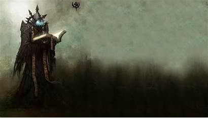 Mage Wizard Sorcerer Dark Fantasy Magic Artwork