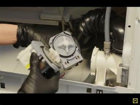 comment remplacer la pompe de vidange d une machine 224 laver zanussi