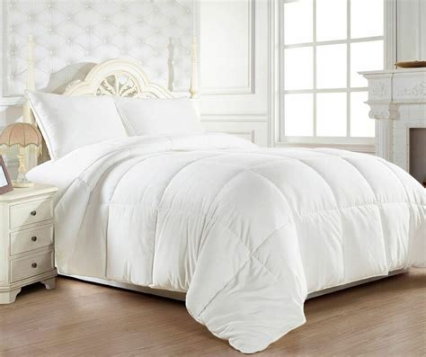 White Comforter Cover goose alternative reversible white comforter and 3