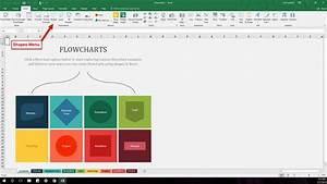How To Find And Use Excel U0026 39 S Free Flowchart Templates
