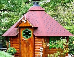 Bilder Für Garten : nordisches sechseck gartenhaus eine grillh tte mit grillschorstein in der mitte ~ Sanjose-hotels-ca.com Haus und Dekorationen