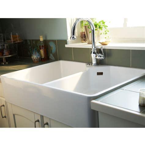 evier de cuisine à poser évier en grés à poser office blanc castorama cuisine