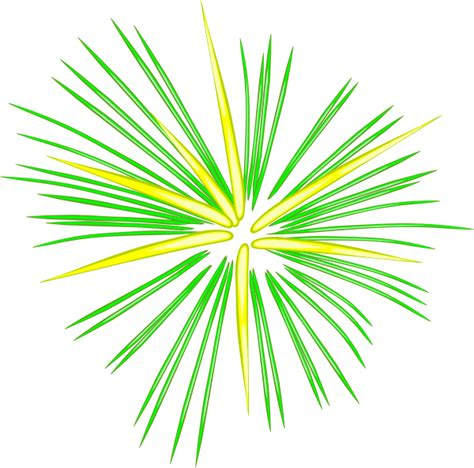 Clipart Fireworks Large Green Fireworks Clip At Clker Vector Clip