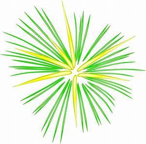 Large Green Fireworks Clip Art at Clker.com - vector clip ...