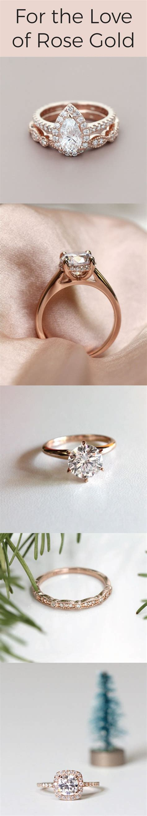 engagement rings top to bottom heroine accented