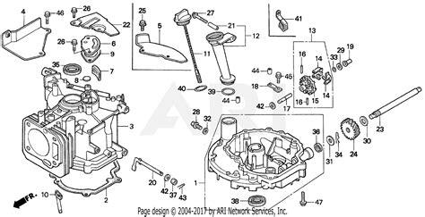 Honda Hxa Lawn Mower Usa Vin Mzam Parts