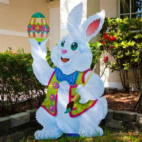 large outdoor easter decorations outdoor designs outdoor