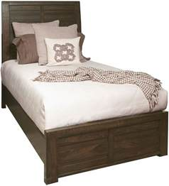 Ruff Hewn Bedding by Ruff Hewn Brown Panel Bed From Samuel