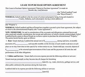 10+ Sample Lease Purchase Agreement Templates | Sample ...