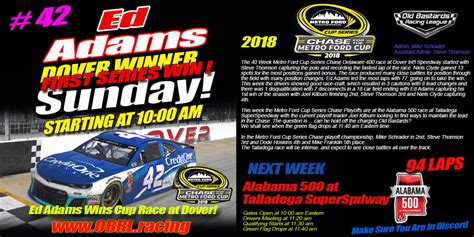 Winner Ford Dover by Nascar Metro Ford Cup Winners Iracing Nascar