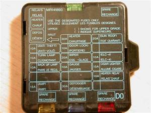 5e11d Dodge Stealth Fuse Box