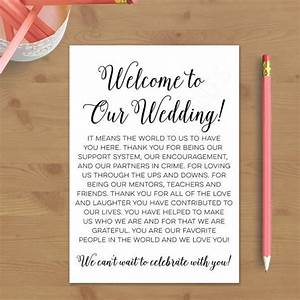 printable wedding welcome letter instant download With destination wedding welcome letter template