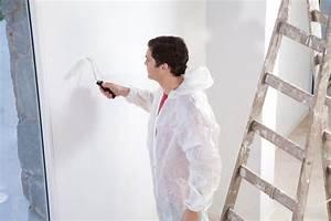 Bohrlöcher Schließen Ohne Streichen : streichen ohne tapete kein problem arbeitsschritte ~ Orissabook.com Haus und Dekorationen