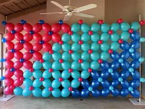 panel de globos adornos con globos decoración con