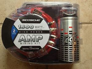 New Scosche Watt High Power Amp Wiring Kit With