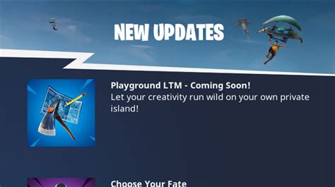 Fortnite Br Getting Playground Limited-time Mode Soon