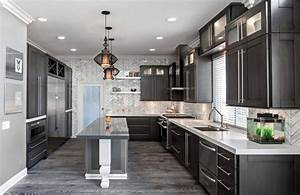 home decor trends for 2017 get the glamour of mineral grey With kitchen cabinet trends 2018 combined with large snowflake wall stickers