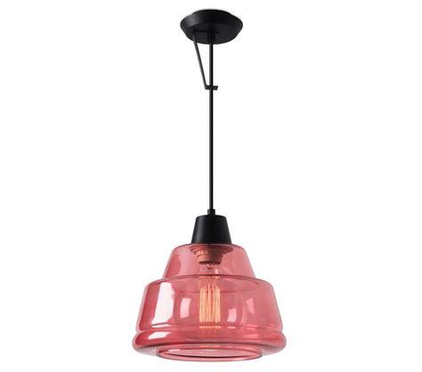 leds c4 color single ceiling wall pendant magenta glass