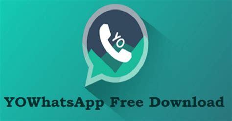 yowhatsapp apk 2019 yowa version v7 60