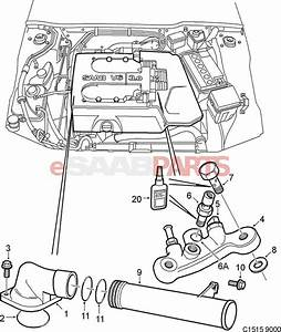 saab 9 3 engine bay engine diagram and wiring diagram With saab oil diagram