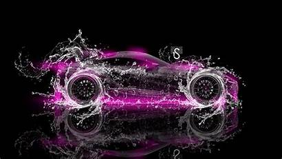 Wallpapers Toyota Cool Ft Neon Abstract Pink